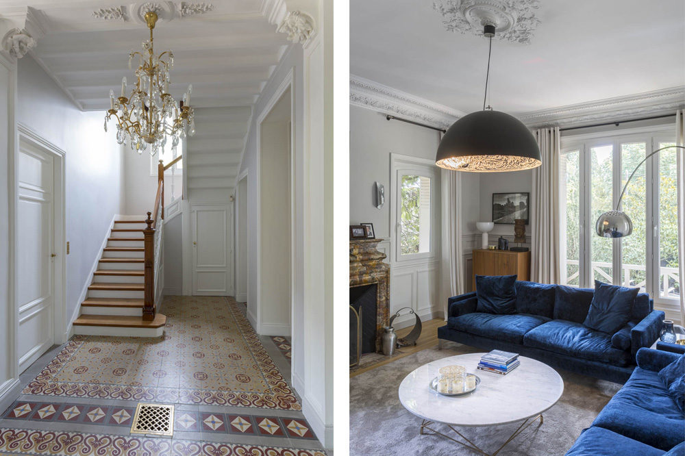 Décoration intérieure - Villa 1900