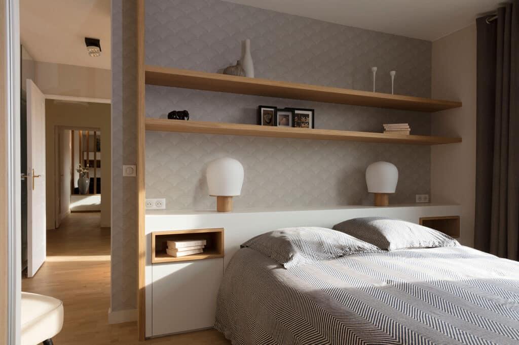 Design sur mesure pour Appartement scandinave japonais - Yvelines, by Christiansen Design, Architecte d'intérieur et Décorateur à Paris, Yvelines, Hauts de Seine, Provence