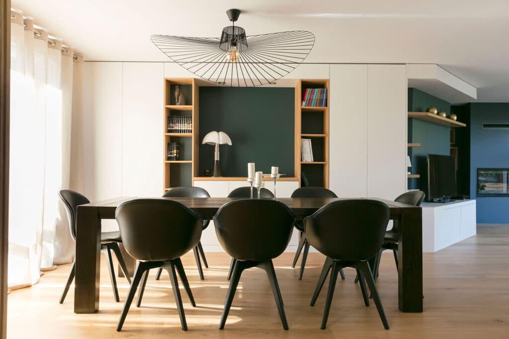 Design sur mesure pour Maison au design graphique - Salon, by Christiansen Design, Architecte d'intérieur et Décorateur à Paris, Yvelines, Hauts de Seine, Provence